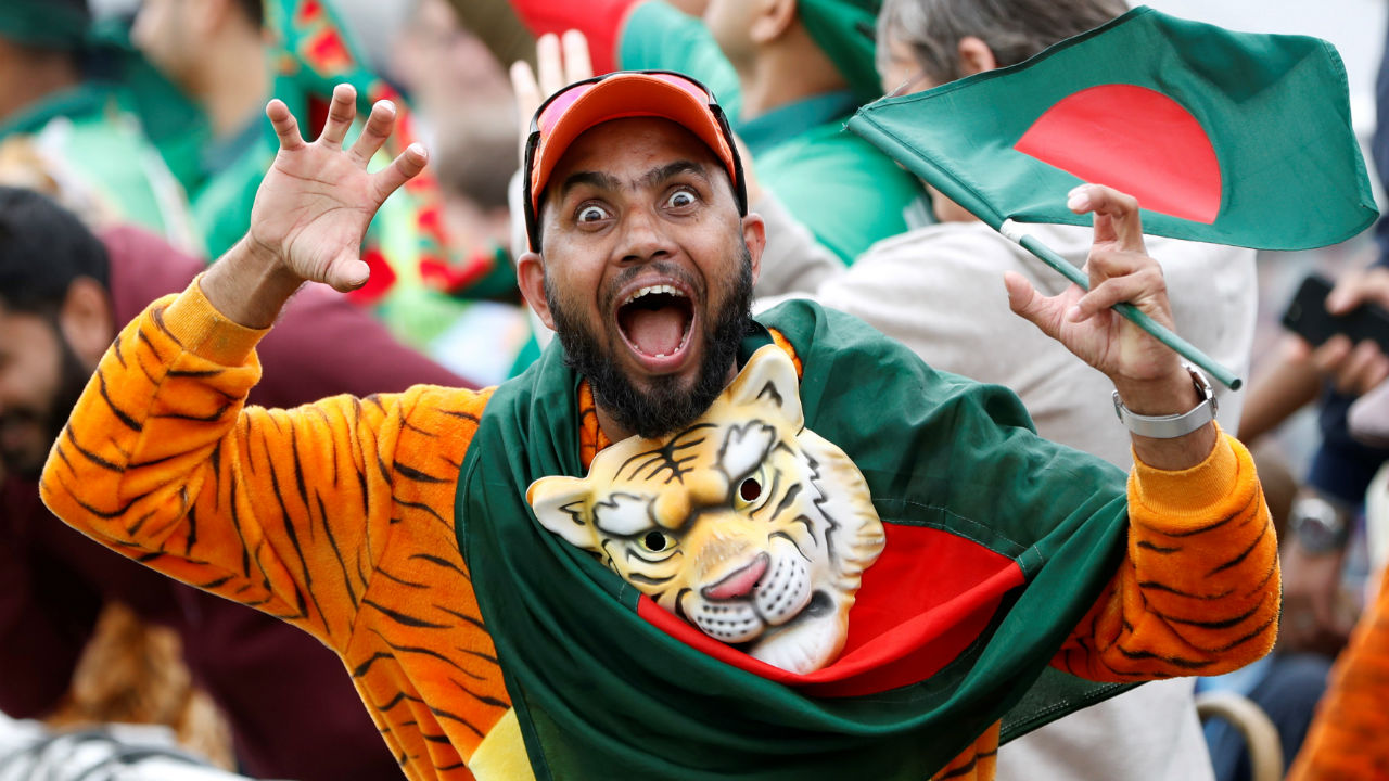 Bangladesh faced West Indies for match 23 of ICC Cricket World Cup 2019. Bangladesh skipper Mushrafe Mortaza won the toss and elected to bowl. Bangladesh made one change, bringing in Liton Das in place of Mohammad Mithun. For West Indies, Carlos Brthwaite made way for Darren Bravo in the playing XI. (Image: Reuters)