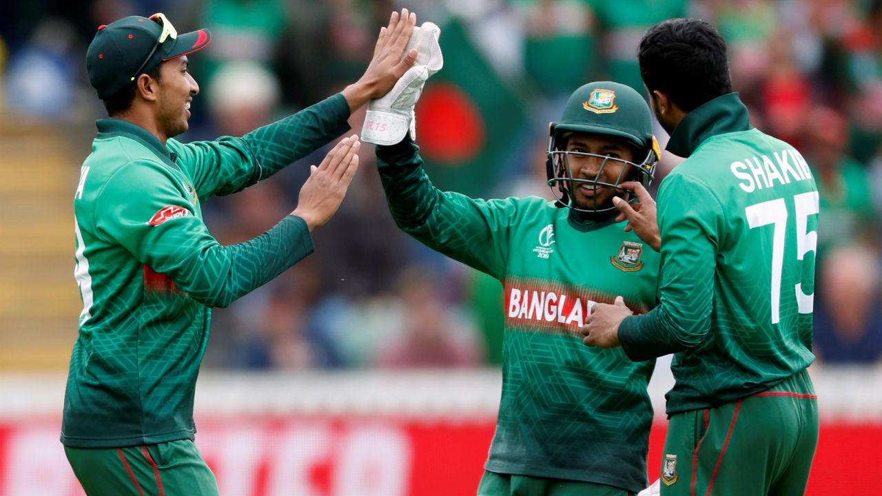 Shakib then accounted for the wicket of Nicholas Pooran in the 33rd over. Pooran made 25 off 30 as West Indies were 159/3. (Image: Reuters)