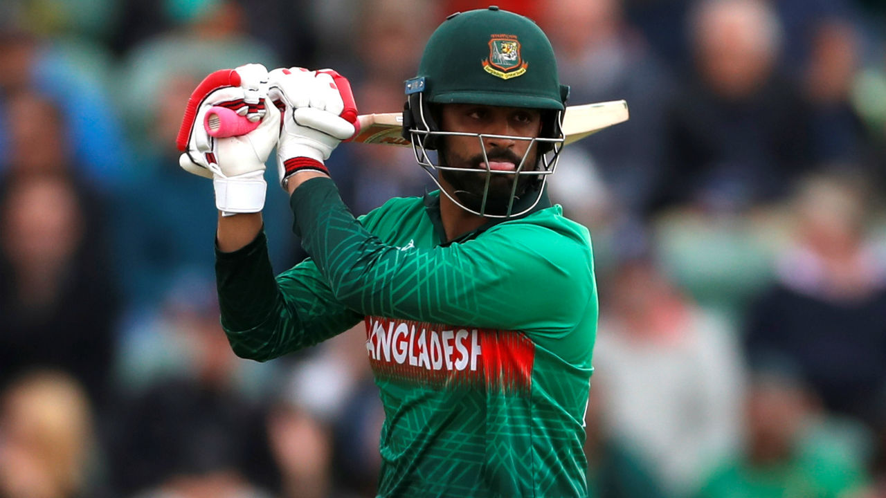 Tamim played a blistering knock of 48 and helped rebuild Bangladesh's chase along with with Shakib Al Hasan. (Image: Reuters)