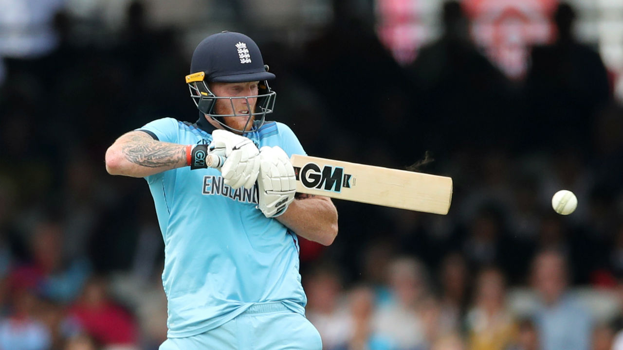 Stokes made 89 off 114 balls and was looking threatening to Australian prospects but a peach of a yorker from Starc in the 37th over castled Stokes. England were 177/6. (Image: Reuters)