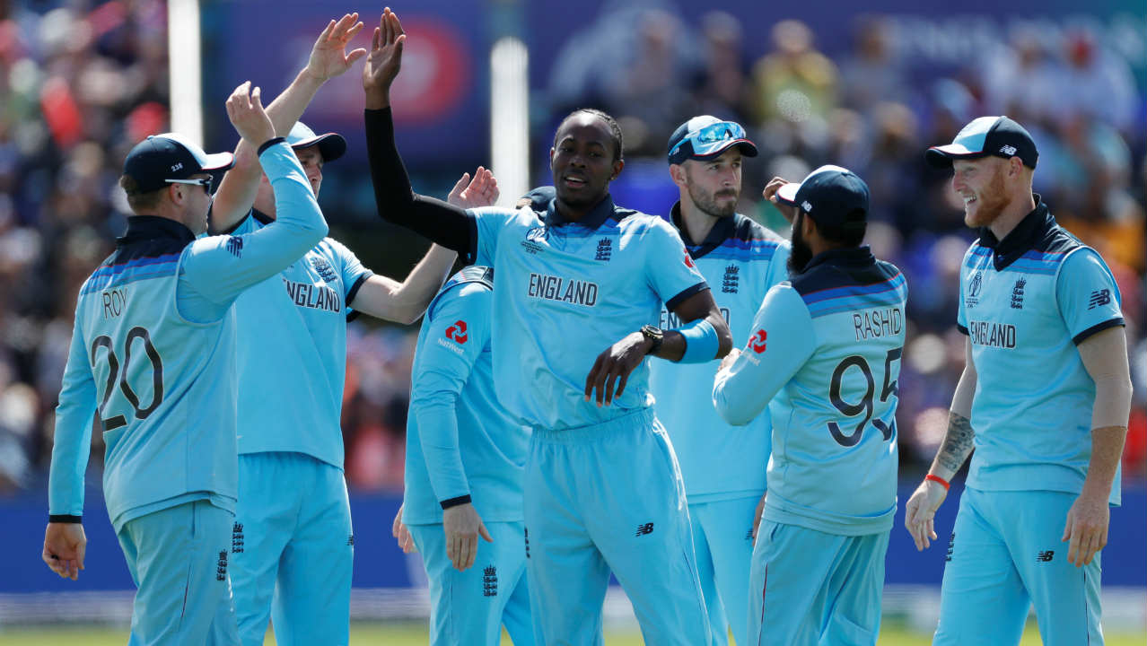 Jofra Archer provided the early breakthrough when he castled opener Soumya Sarkar in just the 4th over. Tamim Iqbal then stitched together a steady 55-run partnership with Shakib Al Hasan. The partnership was broken by Mark Wood who got Tamim caught out in the 12th over. Bangladesh were struggling at 63/2 when Tamim walked back. (Image: Reuters)