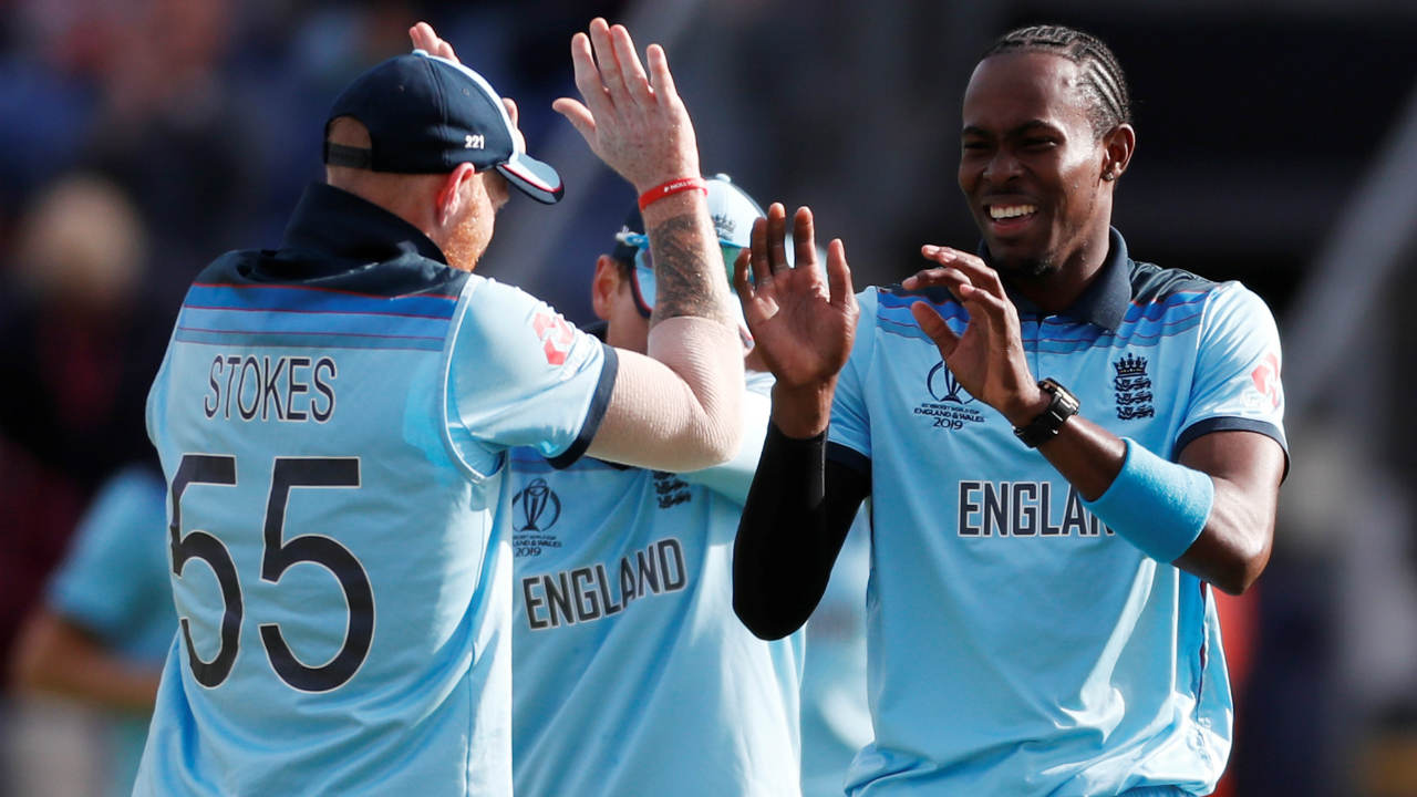 Shakib's dismissal opened the floodgates as Stokes picked up his second when he had Mosaddek Hossain caught out in the 44th over. Wood send back Mahmudullah in the next over and Stokes returned in the 46th to castle Mohammad Saifuddin. Archer then picked up the final 2 wickets in the 49th over as England bowled out Bangladesh for just 280 securing a 106-run victory. Jason Roy was declared the Man of the Match for his 153 off 121 balls. (Image: Reuters)