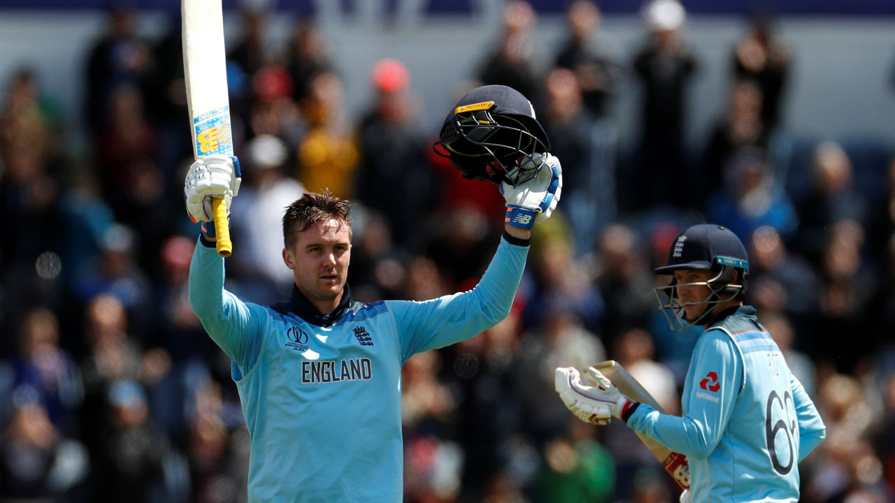 England 386-6 beat Bangladesh 280-all out by 106 runs | Jason Roy's blistering 153 off just 121 balls and fifties from Bairstow and Jos Buttler propelled England to their highest-ever World Cup total. In reply, Shakib Al Hasan scored a fighting 121 but Archer (3/29) and Stokes (3/23) there were no hiccups as England sealed a dominant victory. (Image: Reuters)