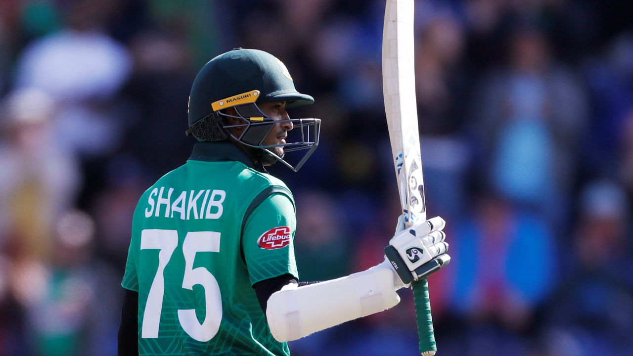 Cricket World Cup 2019: Shakib leads run-scorers chart with Warner close behind