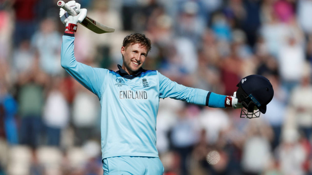 With England within touching distance of victory Woakes (40 off 54 balls) lost his wicket in the 32nd over with substitute fielder Fabian Allen taking a sublime catch. Root brought up his second century of the tournament in the next over and together with Stokes led the team to an 8-wicket victory. (Image: Reuters)