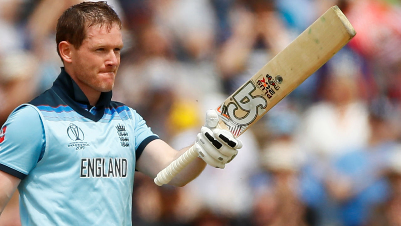 Morgan played devastating knock of 148 from 71 balls during which he smashed 17 sixes and 4 boundaries. Morgan as result recorded fourth fastest hundred in World Cup and broke the record for most sixes by a batsman in an ODI innings. Morgan's knock came to an end when Naib dismissed the English skipper in the 47th over. (Image: Reuters)
