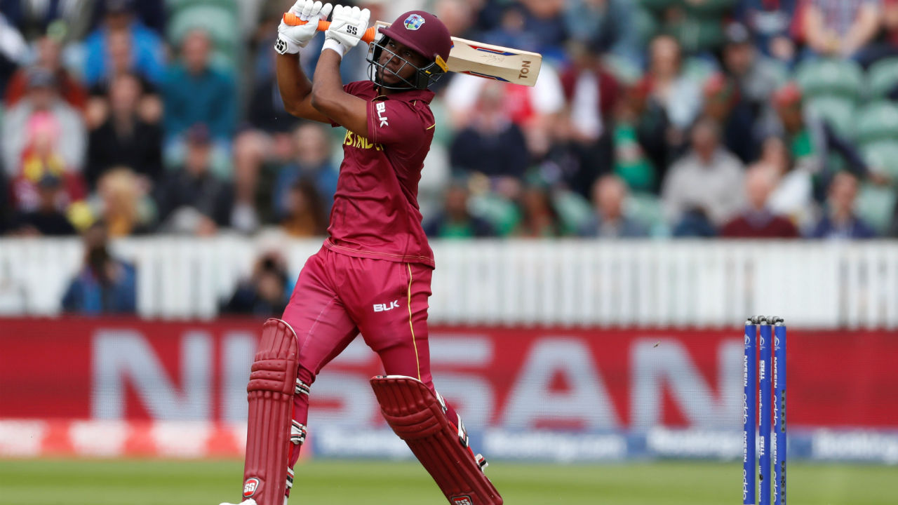 West Indies opener Ewin Lewis then put up a 116-run partnership along with Shai Hope. During the course of partnership, Lewis completed his fifty in the 23rd over. The batsman was dismissed by Bangladeshi all-rounder Shakib Al Hasan in the 25th over. Lewis made 70 as West Indies were 122/2. (Image: Reuters)
