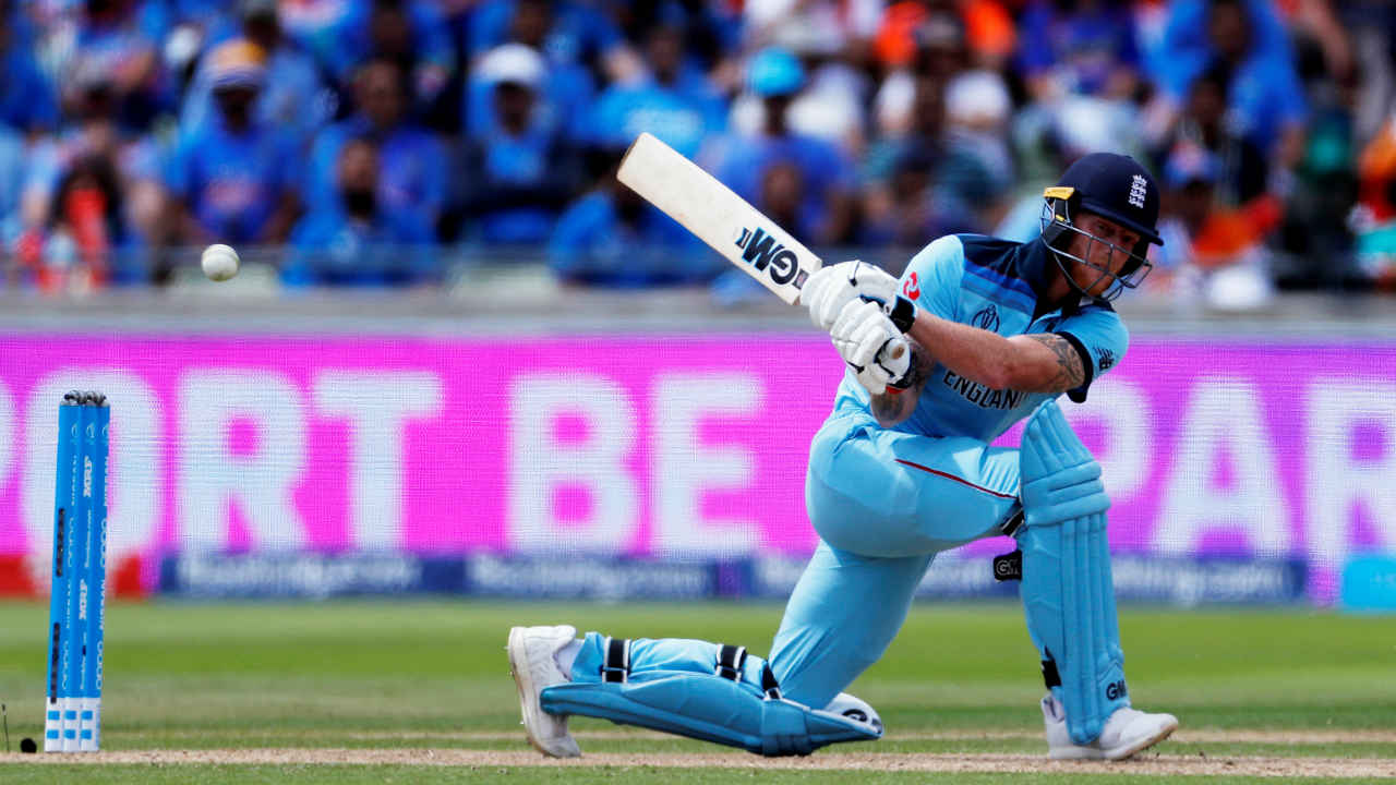 Bairstow completed his fourth fifty of this World Cup with a stylish six off a Chahal's delivery as England continued to march towards an imposing total. (Image: Reuters)