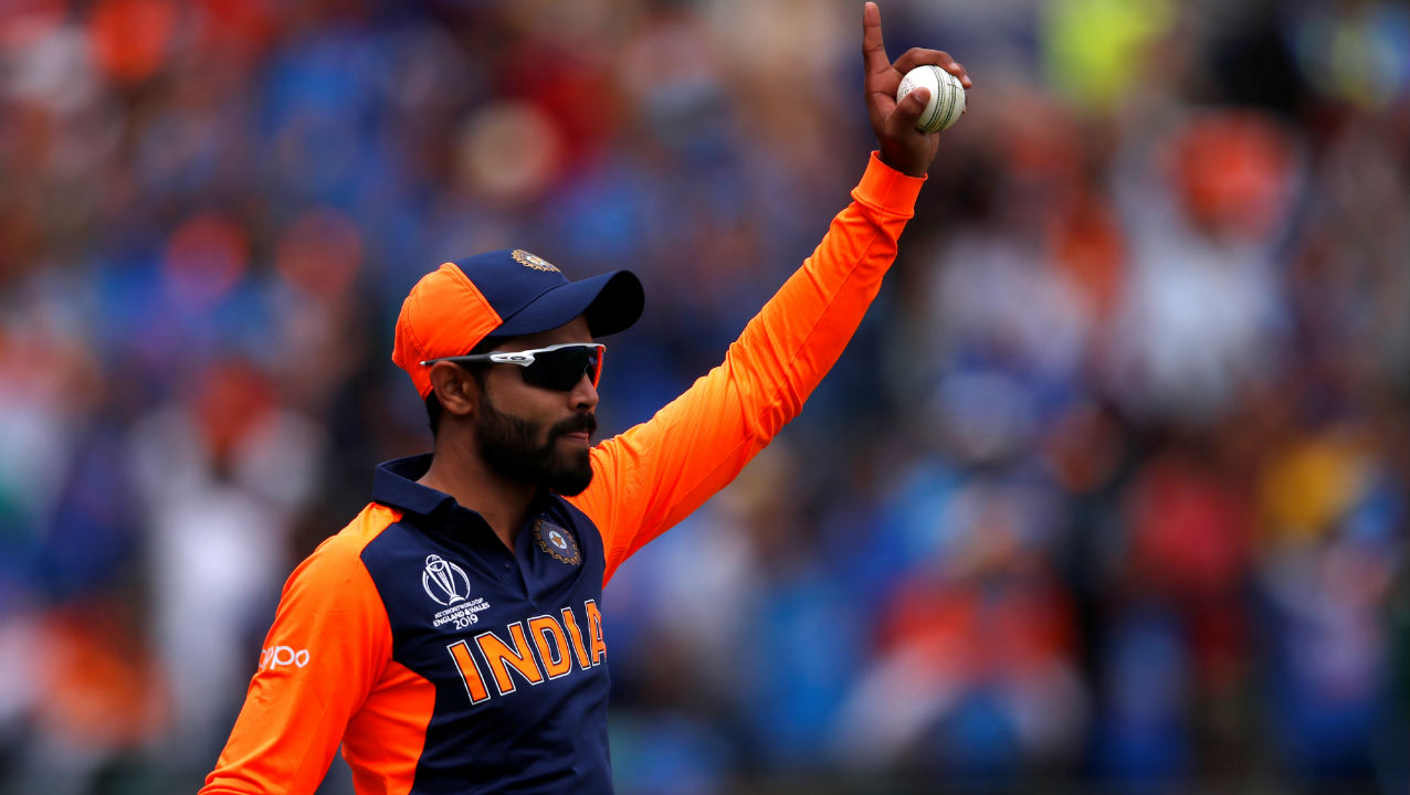 India finally got the breakthrough in the 23rd over and it came via substitute fielder Ravindra Jadeja. Roy charged forward and sent a Kuldeep Yadav delivery flying towards long-on. Jadeja ran across and dived full length to pluck the ball inches from the ground. Roy returned with 66 off 57 balls. (Image: Reuters)