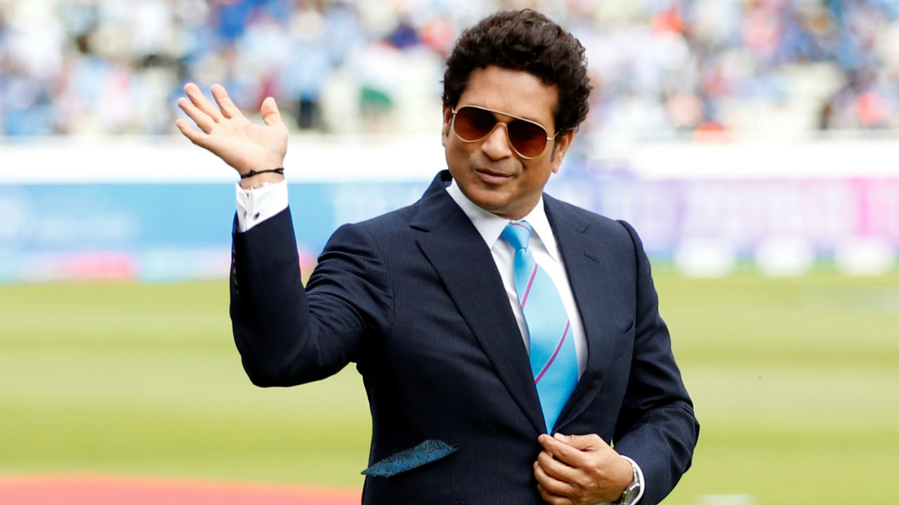 Legendary Indian batsman Sachin Tendulkar was present along with Virat Kohli and Eoin Morgan for the toss at Edgbaston, Birmingham. Tendulkar was representing UNICEF for whom he is an ambassador as part of the #OneDay4Children campaign. The money raised from this match would support UNICEF's work for children in cricket playing nations across the world. (Image: Reuters)