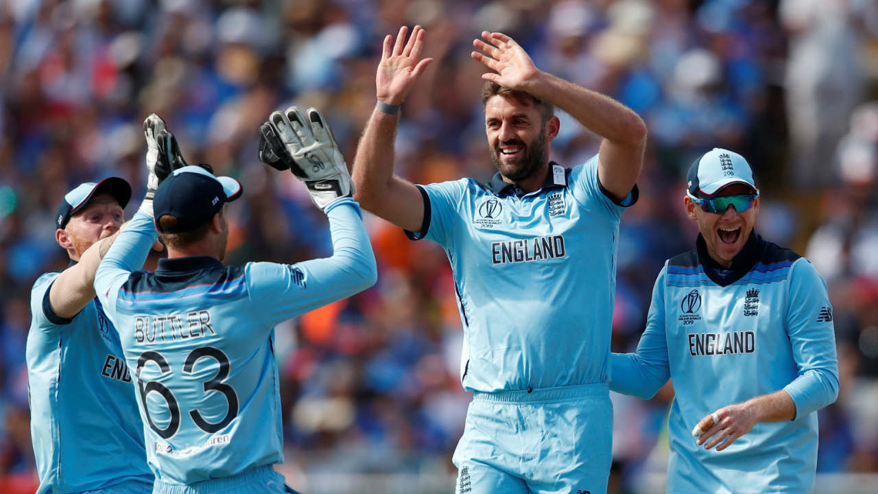 Liam Plunkett gave England a major relief as he got Kohli caught at backward point by substitute fielder James Vicne in 29th over. Kohli's tendency of losing his wicket soon after completing his fifty continued as Indian skipper walked back after making 66 off 76 balls. India were 146/2 at the fall of Kohli's wicket. (Image: Reuters)