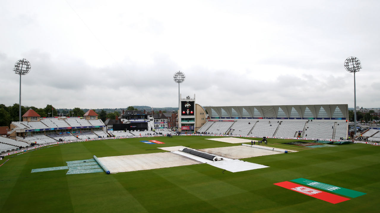 India v New Zealand - match abandoned | The only two unbeaten teams in the tournament at that stage were forced to share points as the match was washed out without a ball bowled. The game was the fourth to be called off in seven days in the tournament setting a new World Cup record for number of games abandoned due to rain. (Image: Reuters)