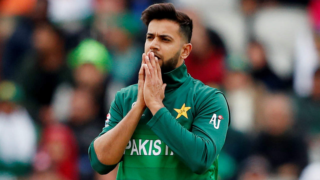 The Pakistani spinners were put under early pressure as the Indian openers tore into them taking 13 runs off Imad Wasim's first two overs before hitting Shadab Khan for 17 runs in his first over. The spinners later clawed their way back into the game. (Image: Reuters)