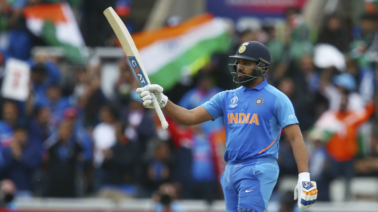 Rohit Sharma (IND) | Matches: 9 | Runs: 648 | 100s: 5 | 50s: 1 | HS: 140 | Average: 81.00 | Strike Rate: 98.33 (Image: Reuters)