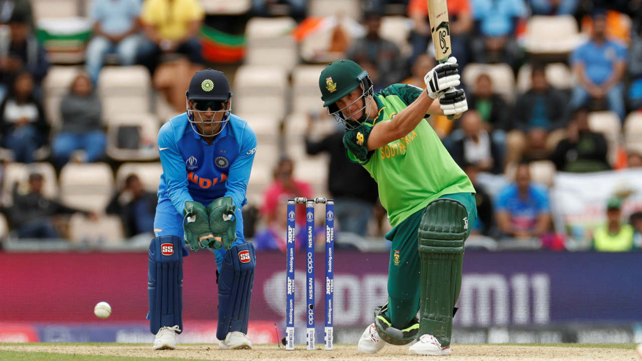Chris Morris (42 off 34) and Kagiso Rabada (31*) stitched together the highest partnership of the South African innings adding 66 runs for the 8th wicket. The partnership was finally broken by Bhuvneshwar Kumar when he got Morris caught out in the final over. Bhuvi then dismissed Imran Tahir on the last ball of the innings as South Africa finished with just 227/9. (Image: Reuters)