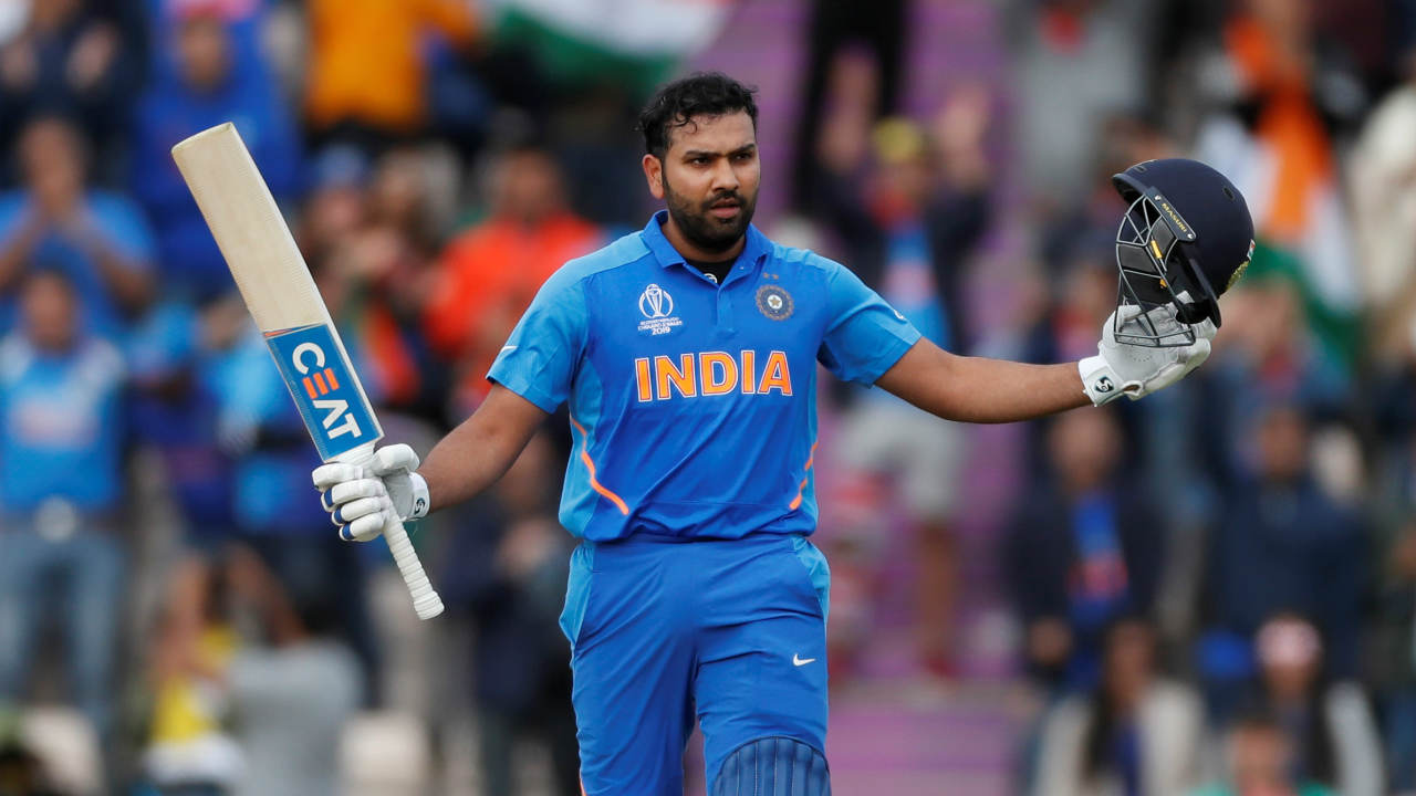 Rohit showed great composure at the crease and brought up his century in the 41st over off 128 balls. It was his slowest ODI hundred but a well-constructed knock which took India to within touching distance of victory. Rohit stitched a patient 74-run partnership with MS Dhoni which ended when Morris dismissed Dhoni caught and bowled in the 47th over. India needed just 15 runs to win from 23 balls when Dhoni walked back. (Image: Reuters)