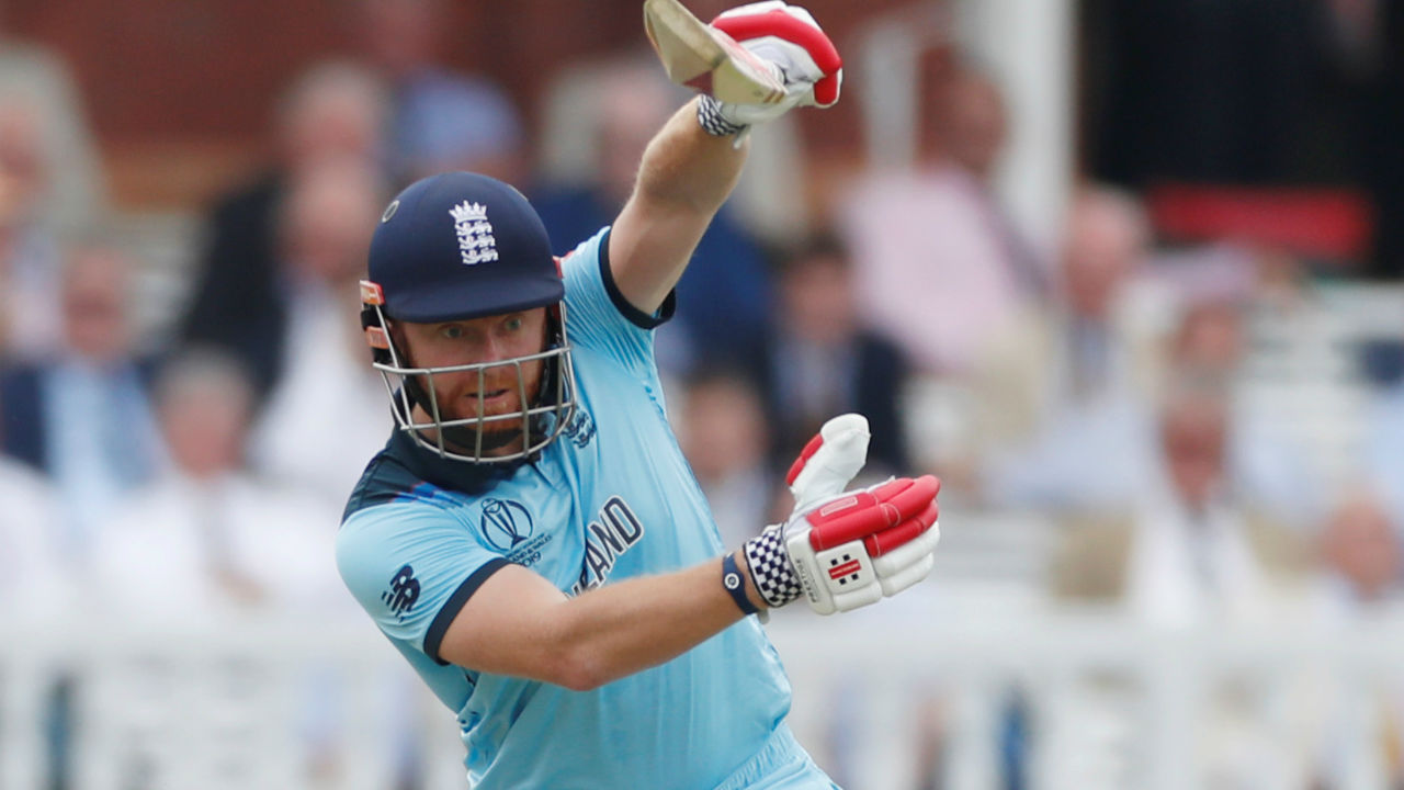 As batsmen kept departing from one end, Jonny Bairstow played a handy knock of 27 off 39 before he became Behrendorff 's second victim of the match. England were 53/4 when Bairstow departed the scene. (Image: Reuters)