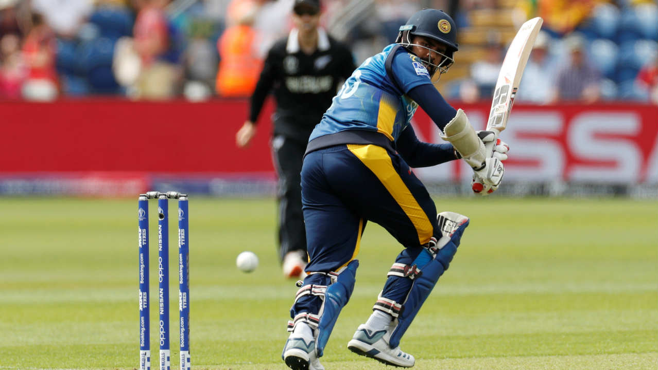 New Zealand and Sri Lanka locked horns in match 3 of the ICC Cricket World Cup 2019 at Sophia Gardens, Cardiff. Kane Williamson won the Toss and opted to bowl. It was a good Toss to win as the pitch had a healthy tinge of grass on it which the pacers could exploit. (Image: Reuters)