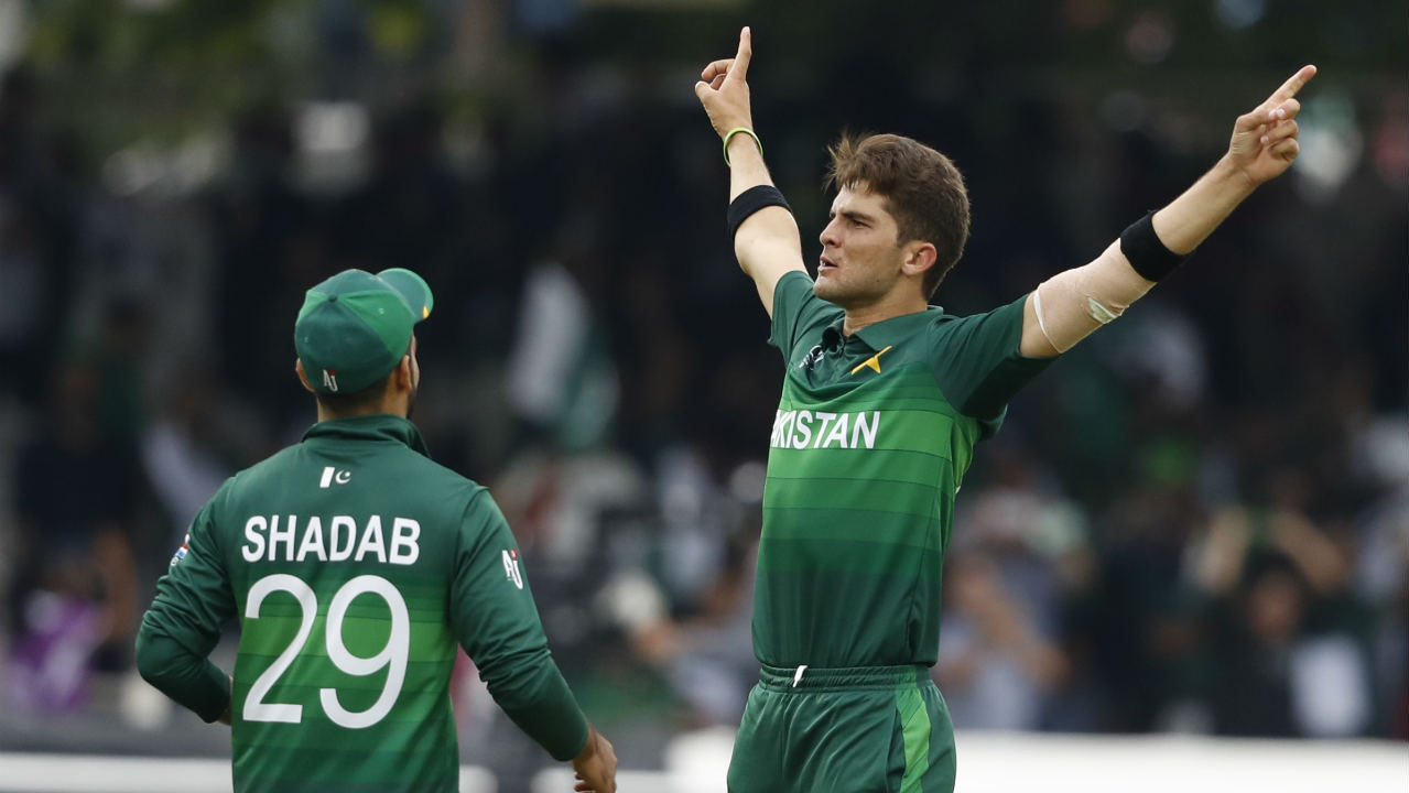 David Miller and Rassie van der Dussen then provided some hope with a 53-run stand but Shadab returned to get rid of van der Dussen in the 40th over. Shaheen Afridi then castled Miller in the next over to put Pakistan firmly in control of proceedings.