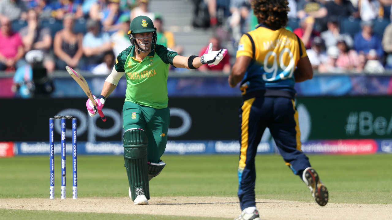 du Plessis completed his fifty in the 28th over. The du Plessis-Amla stand put South Africa in a position of command. (Image: Reuters)