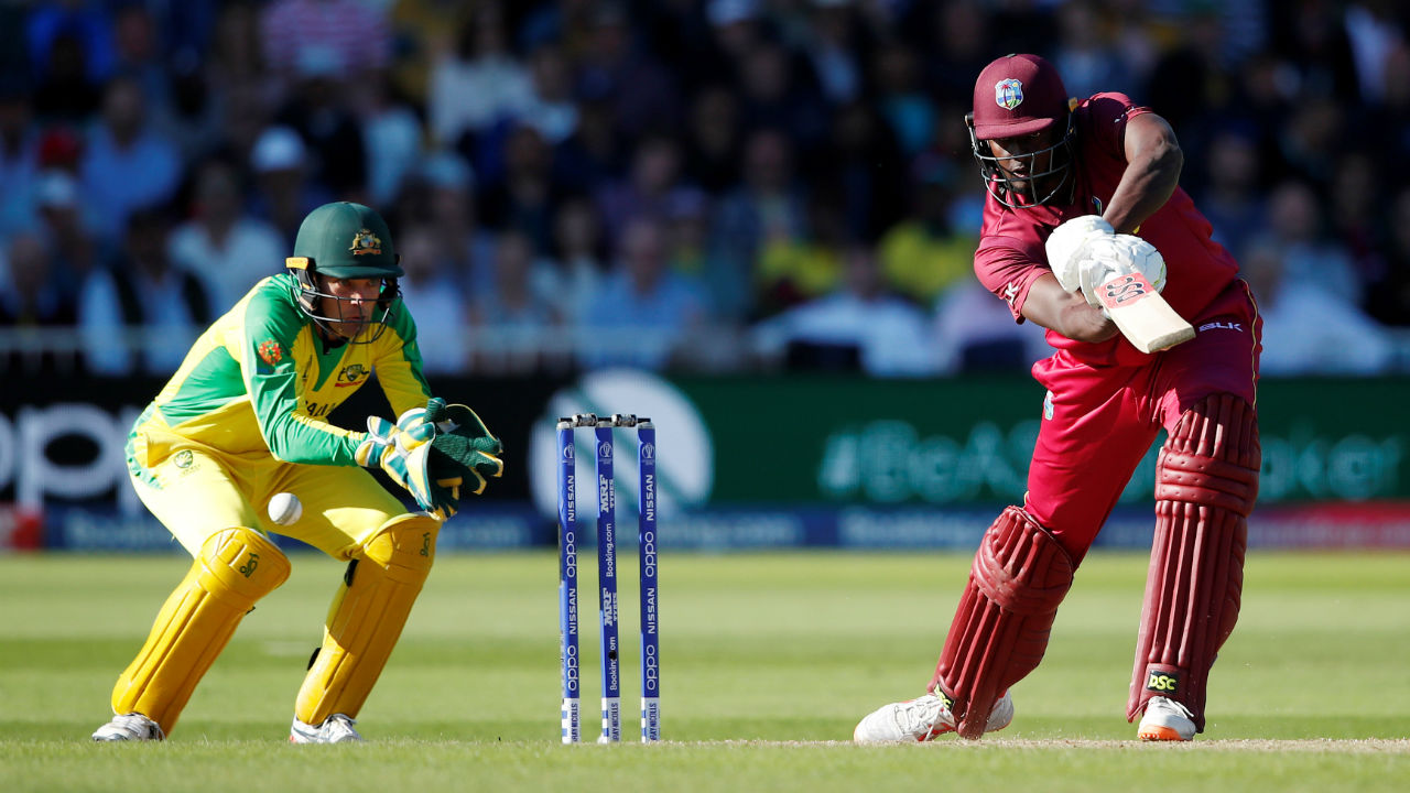 Holder played a fighting knock lower down the order and completed fifty in the 44th over. (Image: Reuters)
