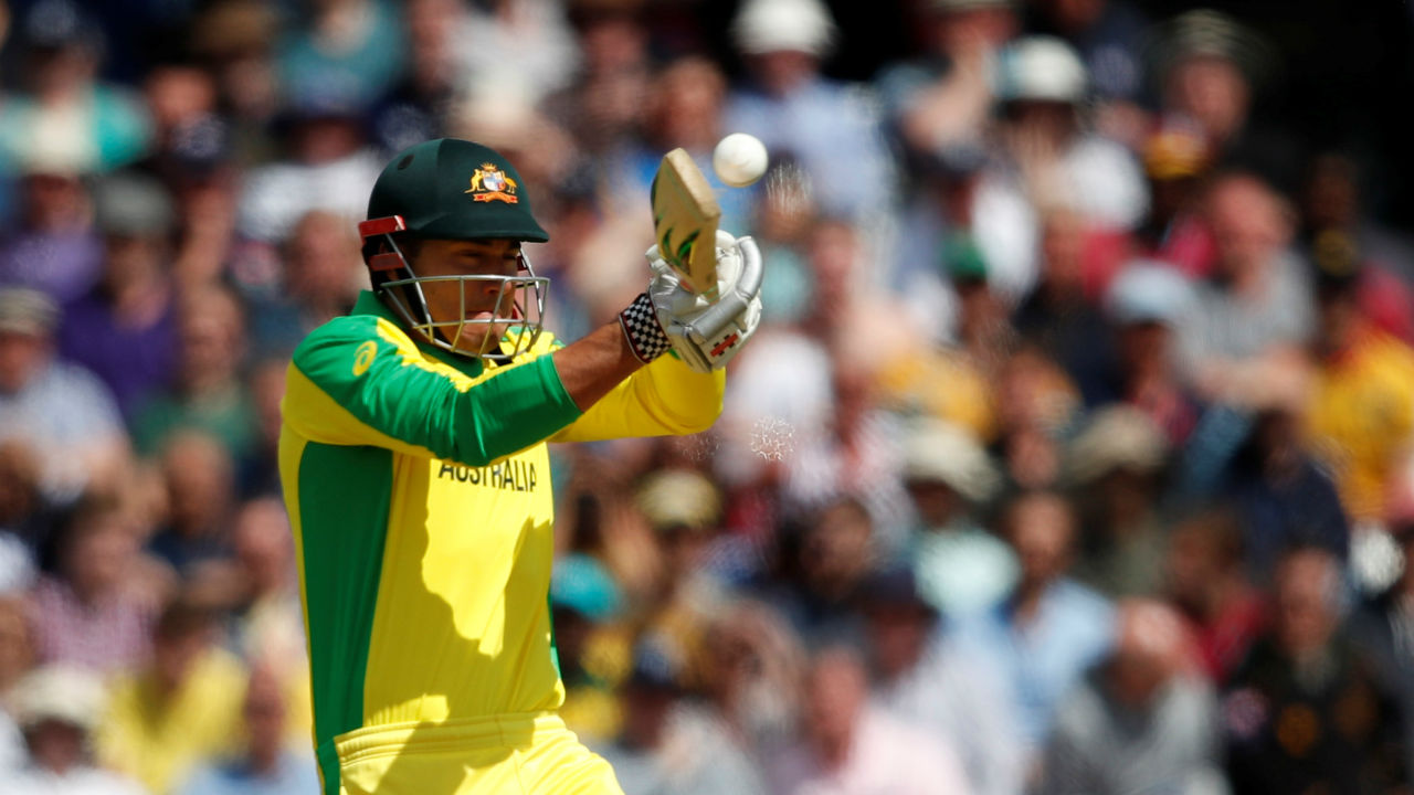 Australian all-rounder Marcus Stoinis played a handy innings of 19 from 23 balls before Holder dismissed him in the 17th over. Australia were 79/5. (Image: Reuters)