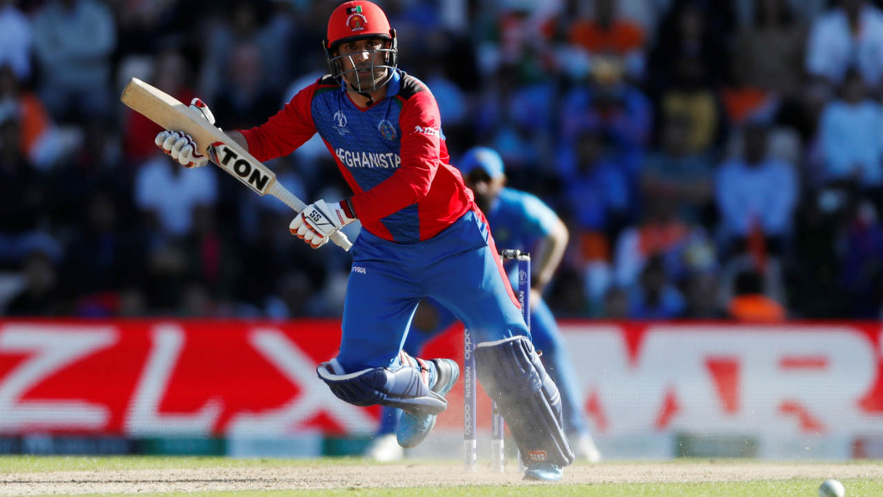 Nabi fought hard from the other end and took it it all the down to the last over. Afghanistan needed 16 runs off last 6 balls of the match. Shami was given the responsibility to bowl the last over. Nabi hit the first ball of the 50th over for a boundary to complete his fifty. (Image: Reuters)
