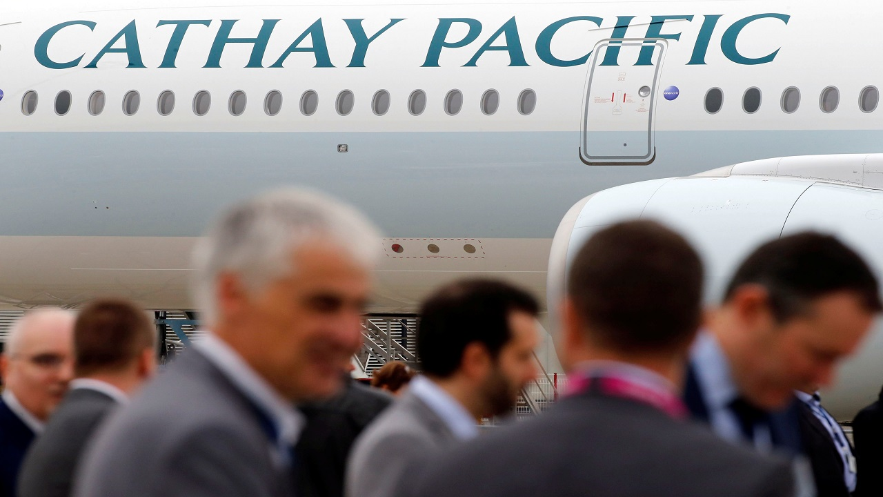 No. 4 | Cathay Pacific | The Hong Kong-based flagship carrier also runs other airlines like Cathay Dragon and Air Hong Kong. (Image source: Reuters)