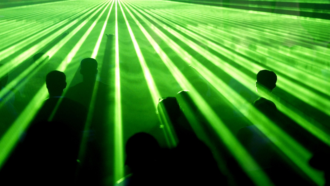Yoga rave: This rave will add health benefits to you as you do yoga in the rave settings with flashy lights and UV lighting. (Image Source: Reuters)