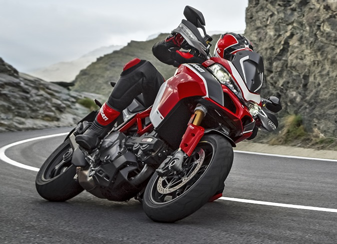 Italian superbike manufacturer Ducati launched the Multistrada 1260 Enduro in India on July 9. It is an improved version of the company's already dedicated adventure touring motorcycle, the Multistrada 1260.(Image source: Ducati.com)