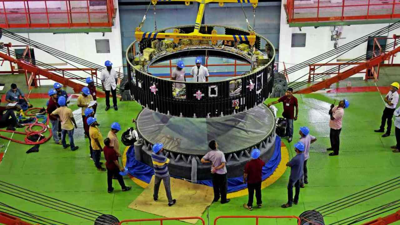 The mission will be launched by the Geosynchronous Satellite Launch Vehicle (GSLV) Mark III from the Satish Dhawan Space Centre at Sriharikota. (Image: isro.gov.in)