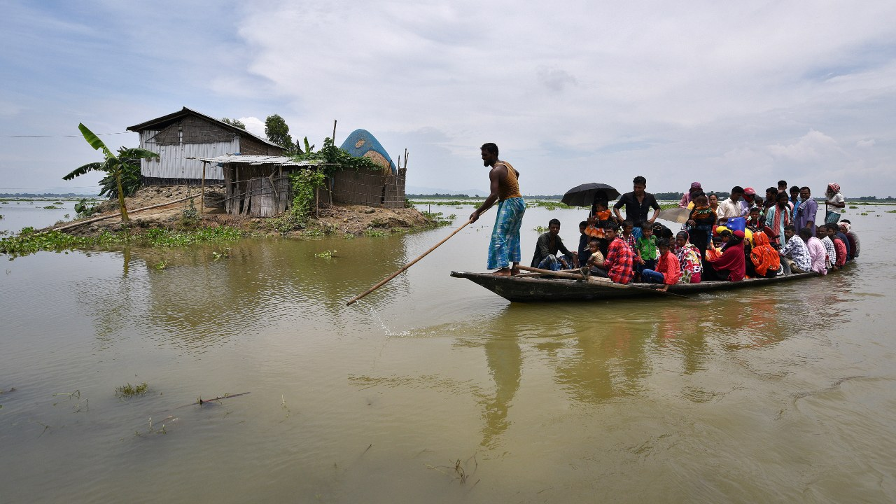 Millions Displaced as Monsoon Floods Hit India, Nepal and Bangladesh