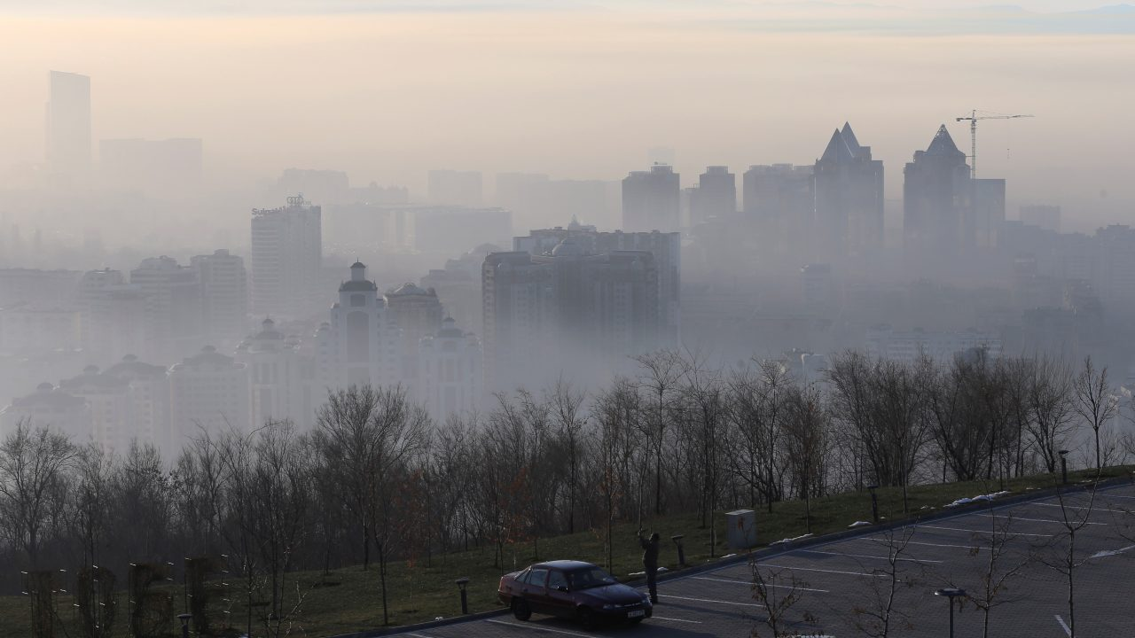 Almaty, Kazakhstan | The leafy city of Almaty, with a backdrop of snow-capped mountains, is also Kazakhstan's biggest metropolis and trading hub. Seen here: The city of Almaty in heavy fog on a December morning. (Image: Reuters)