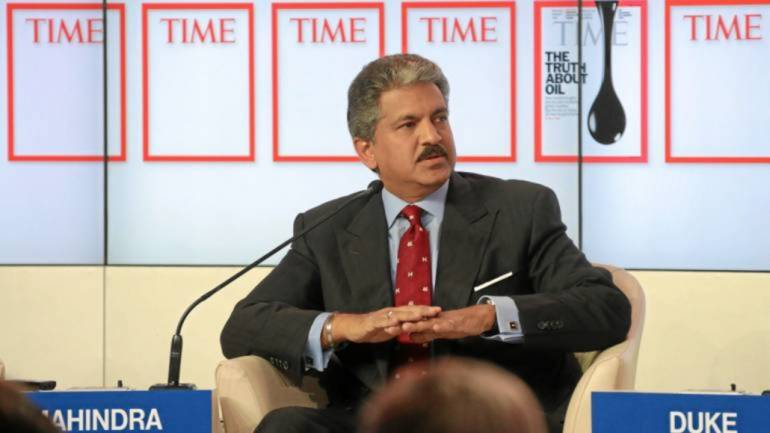 Here's how Anand Mahindra described Friday's stock market crash on Twitter thumbnail