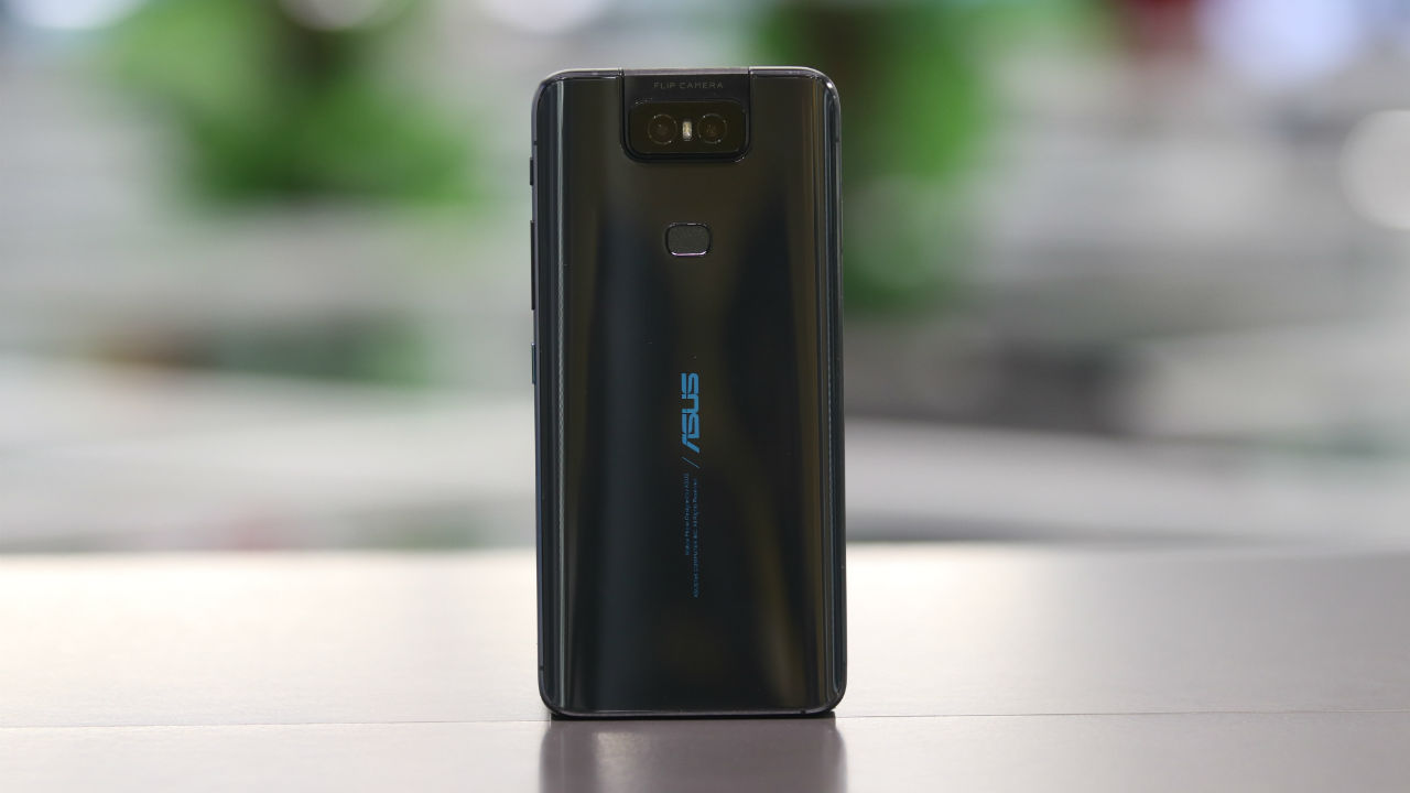 At the back, the Asus 6Z gets a dual camera setup and a fingerprint scanner placed between the Asus branding and the camera unit.
