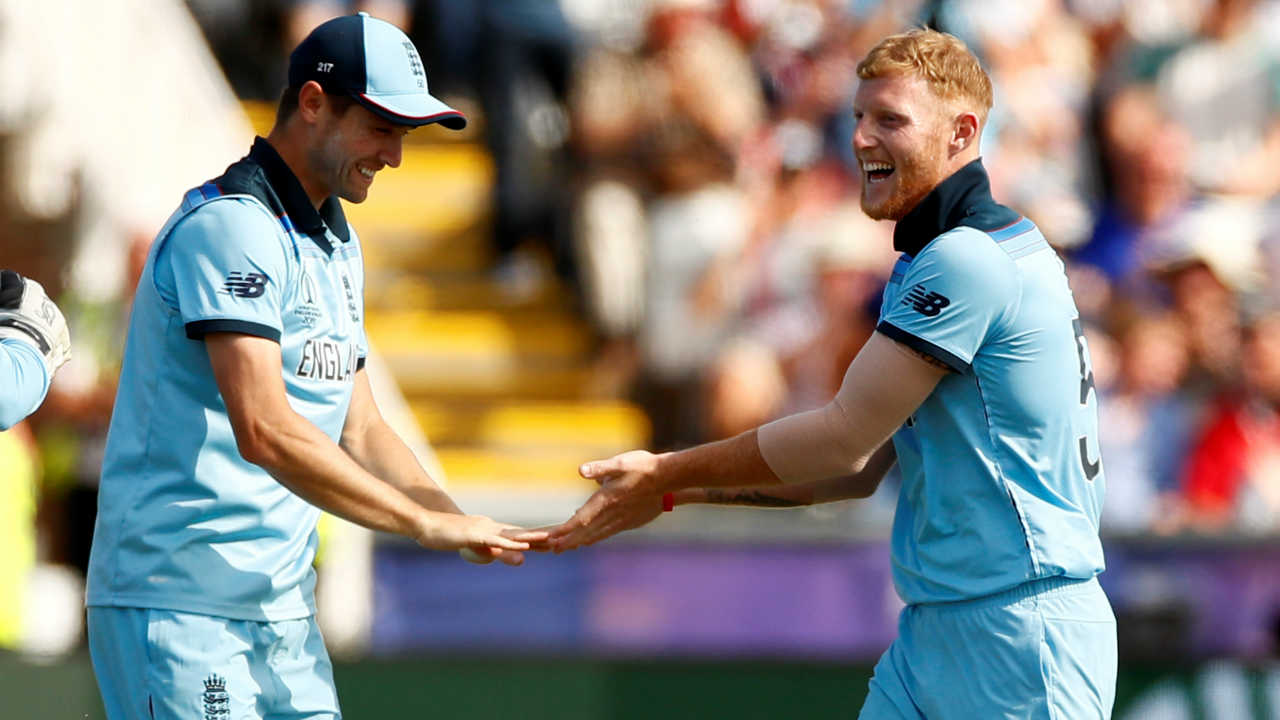 Stokes was introduced into the attack in the 29th over. Stokes got a breakthrough in the same over as he got Colin de Grandhomme caught at square leg by Root. de Grandhomme made 3 off 13 as New Zealand were 128/6. (Image: Reuters)