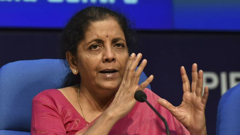 FM Nirmala Sitharaman press conference LIVE updates: Revival package expected for housing sector - Moneycontrol.com thumbnail
