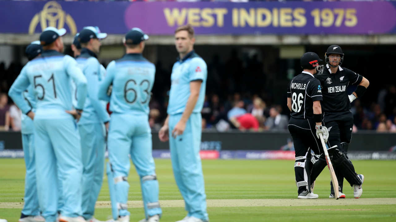 At the start of the innings New Zealand openers Martin Guptill and Henry Nicholls survived few nervy moments against the pace of Chris Woakes and Jofra Archer. (Image: Reuters)