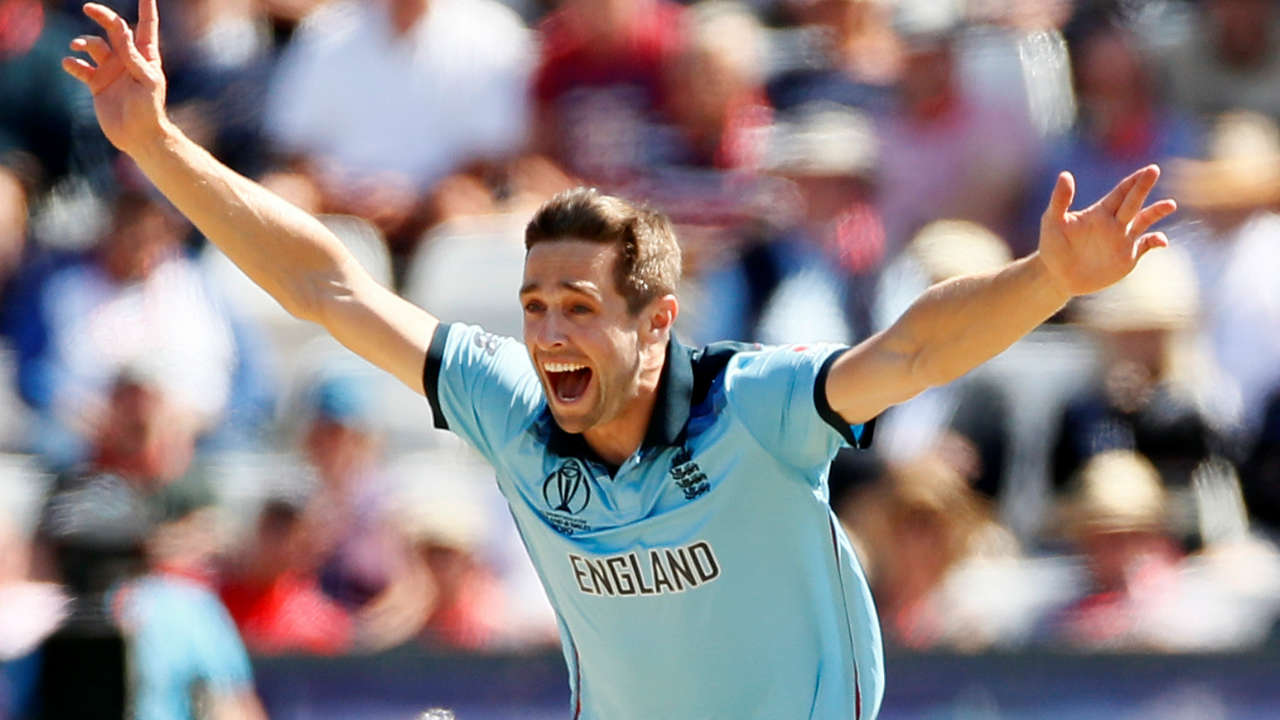 New Zealand started the chase on a wrong foot as Chris Woakes got Kiwi opener Henry Nicholls caught behind in just the first over the New Zealand chase. Nicholls was out on a golden duck. (Image: Reuters)