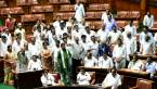 Karnataka floor test LIVE updates: Trust vote debate continues; Cong protests outside rebel MLAs' hotel