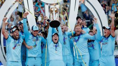 England win World Cup at Lord's