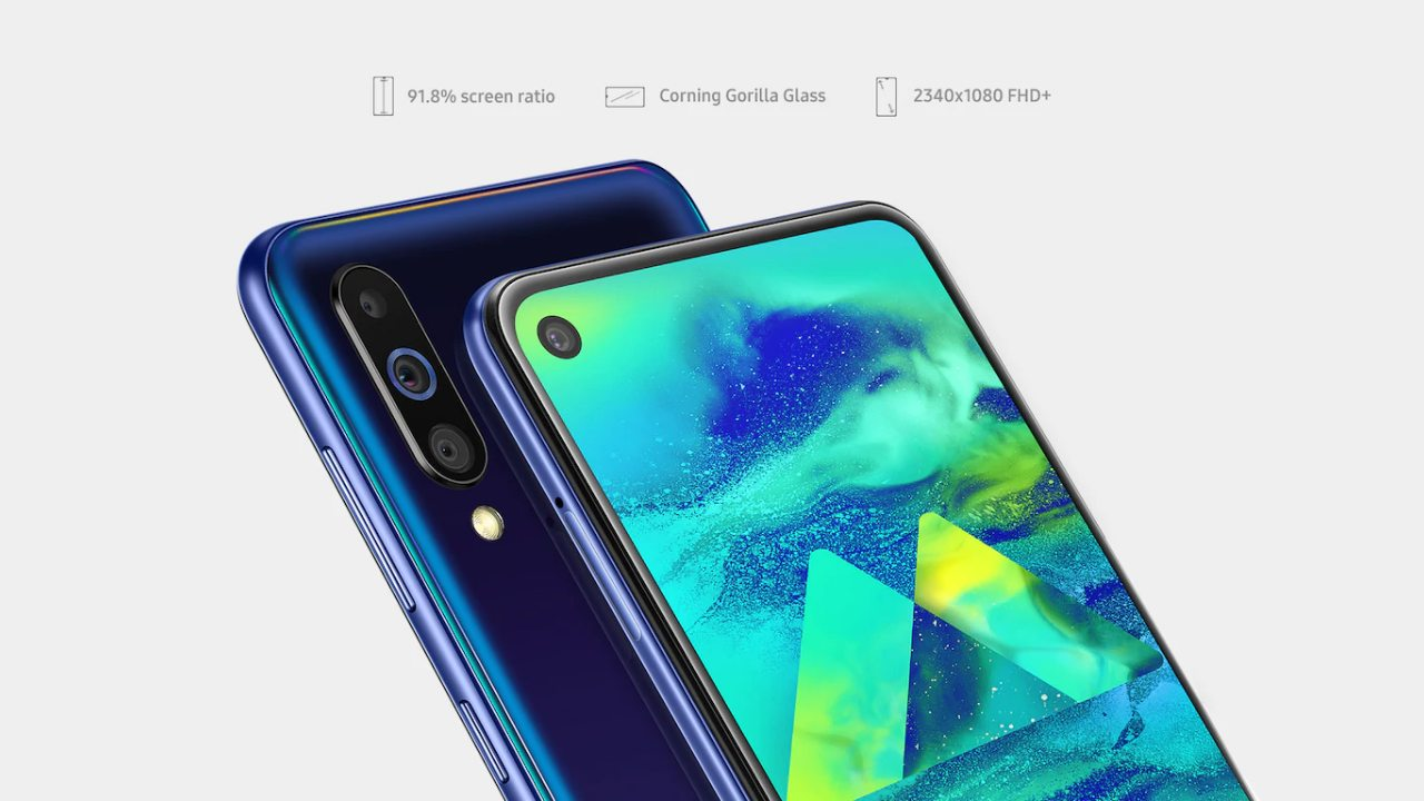 Samsung Galaxy M40 | Rs 19,990 | Snapdragon 675 | 6GB/128GB | Rear – 32MP + 8MP + 5MP | Front – 16-megapixel | 6.3-inch FHD+ LCD | 3,500 mAh | Samsung has yet another addition to this list, in the form of the recently launched Galaxy M40. Unlike most smartphones on the list the M40 sports a Snapdragon 600 series chipset. And, while the M40's Snapdragon 675 SoC is an upgrade from the Exynos 9610 on the A50, its LCD panel and battery aren't as impressive. The M40 is easily one of Samsung's best value-for-money handset.