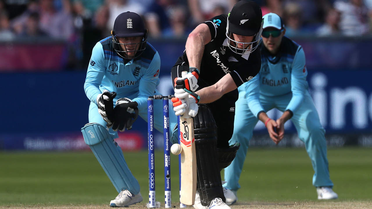 Neesham struck 19 off 27 and struck a 69-run partnership with Colin de Grandhomme. Mark Wood castled Neesham in the 26th over. (Image: Reuters)