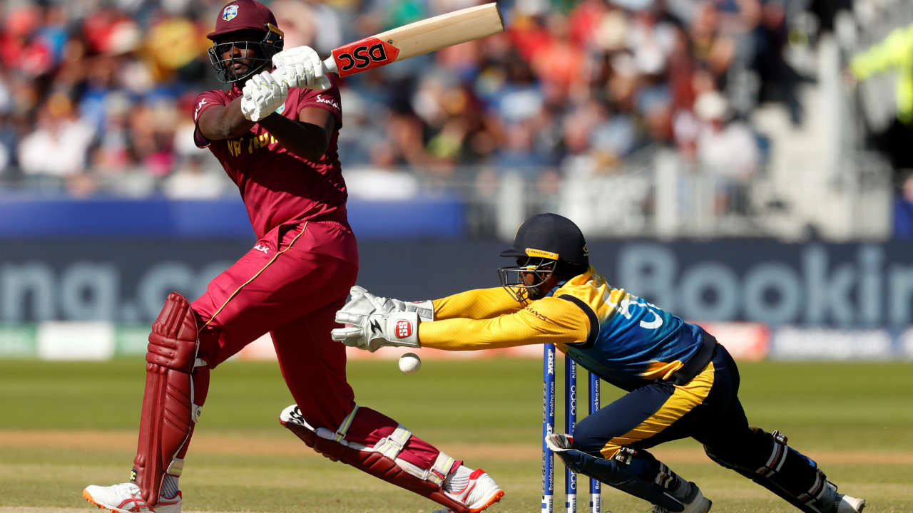 West Indies were in deep trouble when Holder was out in the 29th over. The Windies skipper made a run a ball 26 before he was caught by Jeevan Mendis off the bowling of Jeffrey Vandersay. (Image: Reuters)