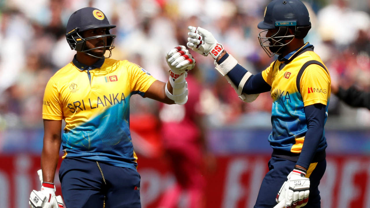 Lahiru Thirimanne hit an unbeaten 45 off 33 lower down the order as Sri Lanka finished with an imposing total of 338/6 in 50 overs. (Image: Reuters)