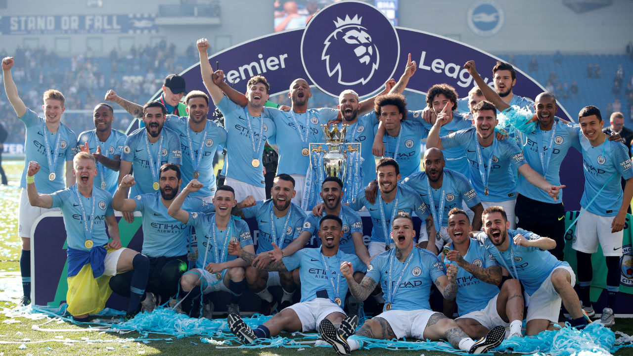 No.5 | Manchester City | Brand Value: $ 1,407 million | Partner Brands: Etihad, Puma (Kit Sponsors), Nissan, SAP (Image: Reuters)