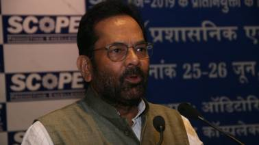 Govt empowering minorities without appeasement: Mukhtar Abbas Naqvi