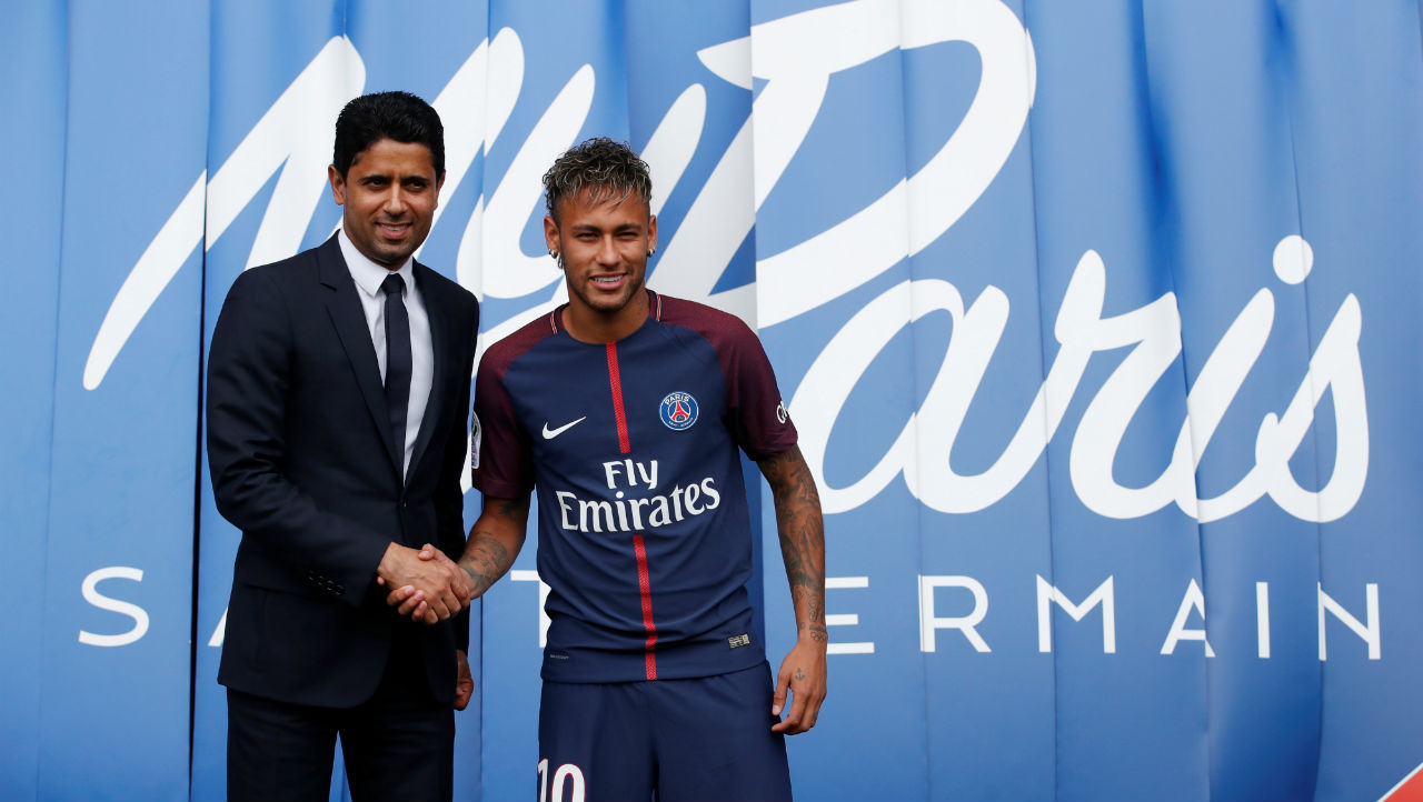 No.1|Neymar Jr. | From: Barcelona| To: Paris Saint-Germain| Transfer deal worth: €222m (Image: Reuters)
