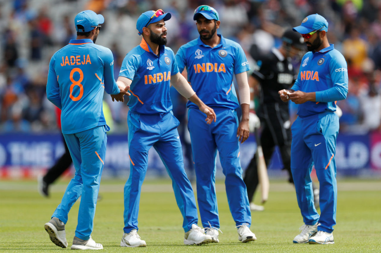 Play resumed on time on July 10 with Taylor and Latham in the middle for New Zealand. However, Bumrah and Bhuvneshwar ensured that the Blackcaps do not post a high total. Taylor was run-out in the 48th over while Bhuvneshwar accounted for the wickets of Latham and Matt Henry as India restricted New Zealand to a total of 239/8 in 50 overs. (Image: Reuters)