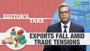 India's exports decline amid trade tensions